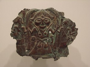 صورتک مفرغی، متعلق به ۱۰۰۰ سال قبل از میلاد مسیح